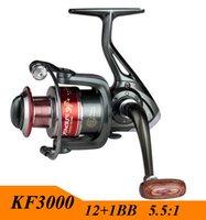 Wholesale 2015 Gapless Spinning Fishing Reel BB Series Metal Spool Carretilha Pesca For Shimano Fishing
