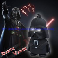 Wholesale 100pcs mixed colors star Wars Skywalker keychain Darth Vader key ring led luminous key chains birthday gift toys can make sounds flash light