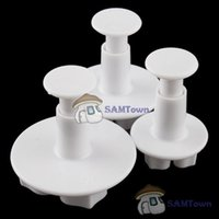 ball plungers - bestPrice Lowest price Cake Flower Ball Decorate Sugar Sugarcraft Tool Cutter Loaf Fondant Plunger Festival