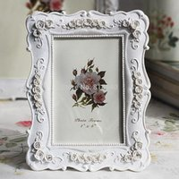 flower picture frame - Photo Picture Frames Rose Flower Shabby Chic White Vintage Gift X5 mm x mm
