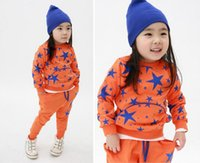 Wholesale 2013 new fashion kids track suits Hoodies Pants piece set children s wear clothing boy girl clothing