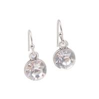 Wholesale New Arrive Pairs Of Fashion alloy metal dangler Earring Silver Tone April July Birthstone Drop Earrings