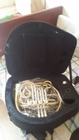 Cheap New Arrival 20150325 Conn 8D double french horn in gold with case best quality