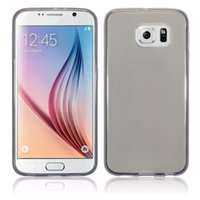 absorbing crystals - For Galaxy S6 mm Ultra Slim Case Flexible Transparent Crystal Clear TPU Gel Shock Absorbing Cover for Samsung S6Edge Edge SGS6C29CG