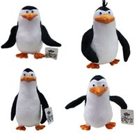 Wholesale The Penguins of Madagascar Skipper Kowalski Private Rico Plush toy doll Chiristmas Present
