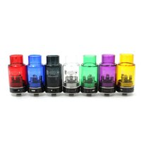Cheap Colorful Fishbone XS RDA Rebuildable Dripping Atomizers Fishbone V2 Kit Glass Vaporizer Tank fit 510 Electronic Cigarette DHL Free
