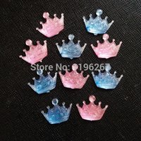 Wholesale Quality crown shape baby shower party decoration hot fix acrylic diamond confetti table scatters
