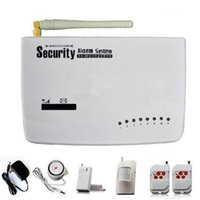 Wholesale Promotion Home security GSM alarm system wireless and wired zone Sample pc