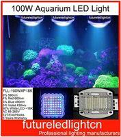aquarium tank hoods - FLL WXP18K New Coral Reef Bridgelux w LED Aquarium lighting Fish Tank LED Lights