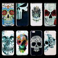 plastic skull - The Hard plastic Cute Fashion Skull Phone Case for iPhone cover for iphone Case