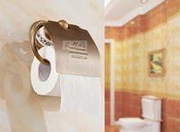 antique brass brackets - Toilet Paper Holder Antique Brass Roll Tissue Bracket