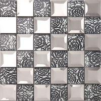 artistic tile - Purple Elf TV backdrop artistic tile mosaic of high grade plastic folder Wall Stickers