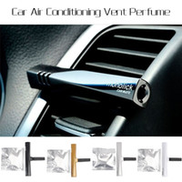 Wholesale Hot Sale Colorful Luxury Car Air Conditioning Vent Clip Perfume Air Freshener Fragrance