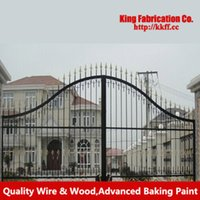 wrought iron fence - Creative outdoor wrought iron gate fence Gates fence door in Gate