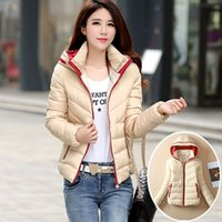 Wholesale Autumn and winter coat cotton padded short slim down female Korean fashion jacket XL fat clearance tide