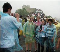 Wholesale hot cheap transparent PVC plastic Disposable raincoat portable One time Raincoat Poncho Rainwear Travel Rain Coat adult