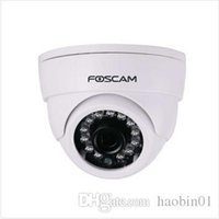 Wholesale 2015Hot sale Foscam FI9851P Megapixel HD Camera IP H IP Camera IR Cut Wireless Free DDNS Onvif