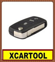 alarm ads - car Auto key for New Button Remote Flip Key MHz K0 AD CAN Chip Inside For VW