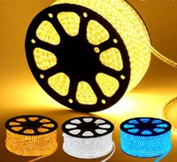 Wholesale Hot sale home lighting Waterproof SMD5050 leds M v AC led flexible strip light white color m outdoor lighting