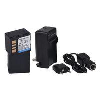 Wholesale 2PCS JVC BN VF707 BNVF707 BN VF707 Replacement Camcorder Battery battery charger car charger for JVC VF707U BN VF714U VF733U