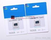Tarjeta microSDHC Tarjeta de memoria 16GB 32GB 64GB Clase 10 Micro SD TF para Samsung Galaxy S7 S5 Nota 5 Huawei Xiaomi teléfonos móviles micro_disk 30pcs