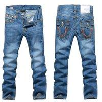 army print jeans - accept DHL U S famous Brand Mens Men Trousers Denim designer Straight Men Pants Casual Army Camo Jeans size