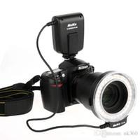 achat en gros de anneau photo numérique-NEW Meike FC-100 FC100 Manuel LED Macro Lumière de Flash avec 7 Anneau adaptateur pour appareil photo reflex numérique Canon Nikon Olympus Pentax numérique