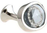 Wholesale Fashion Top Quality Cufflinks Unique Elegant Semi Precious Stone Inlaid Cuff Links Wedding Groom Classic Jewelry of Men