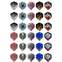 Wholesale Professional sets of D Cool Dart Flights Laser Tail Flight Harrows Throwing