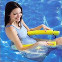 Wholesale New Design cm Pool Noodle Pool Floating Chair Availbale In Assorted Bright Colors Pool Chair Pool Noodle Chair