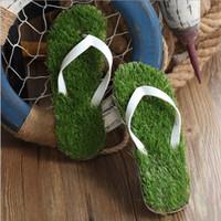 Wholesale Sandals Slippers Flip Flops For Women Men New Fashion Simulation Lawn Slippers Unsex PVC Slipper Sneakers MC