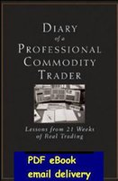 Wholesale Diary of a Professional Commodity Trader Lessons from Weeks of Real Trading by Peter L Brandt