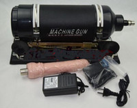 Wholesale Fuck gun Masturbation Sex Machine Gun for Men and Women Love Machine Vagina Masturbation Machine Metal anal toy Dong