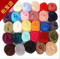Wholesale 2015 NEW candy color women cm Cheap Scarves Fashions Chiffon Scarf Ladies Neck Scarf Turbans wraps neckerchief Shawl TOPB3042