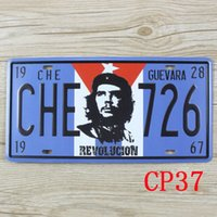 Wholesale CP37 Che726 Vintage Metal Tin Signs License Plate Bar Pub Cafe Home Art Metal Signs Size about cm