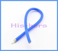 rf coaxial pigtail cable - X M Coaxial RF cable RG402 Soft Pigtail Extension Insulation Cable with FEP blue jacket