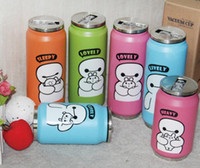 Wholesale 280ml Portable Thermos Bottle for Children Big Hero Cartoon Cup for Kids Vacumm Drinking Cup for Kids