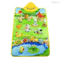 animal playmat - Essential New Creative Music Sound Farm Animal Kids Baby Play Playing Mat Carpet Playmat Gym Toy