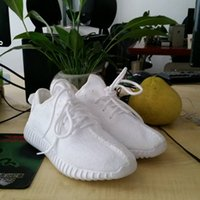 Wholesale Kanye Boost White kanye West Sneakers Boosts New Men Running Outdoor Shoes Size Box Drop Shipping