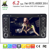car dvd player for mitsubishi outlander - 6 quot Capacitive Screen For Mitsubishi Outlander Car DVD Android With GPS Navigation Wifi G Bluetooth Radio SWC DVR Free Map Card