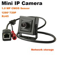 Wholesale Mini IP Camera Onvif P2P H mm Lens P Megapixel HD MP Indoor CCTV Security Network Camera