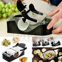 Wholesale Newest DIY Sushi Roller Cutter Machine Kitchen Gadgets Magic Maker Perfect Roll Tool
