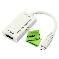 Wholesale Mini Display Port Cable to HDMI Adapter For MacBook Pro Air Mini Display Port Male to HDMI