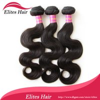 elites hair - Queen Hair A Grade UNPROCESSED Brazilian Virgin BEST TOP Quality Hair Weave Body Wave Remy Elites Hairs Weft BH603