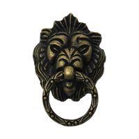 antique wooden door handles - Jewelry Wooden Box Pull Handle Knobs Dresser Drawer For Cabinet Door Lion Antique Bronze cm x4 cm new