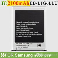 Wholesale NEW S3 Li ion Replacement Battery EB L1G6LLU for Samsung Galaxy S3 siii i9300