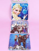 real doll - DHL Free Frozen Doll Princess Elsa Anna Olaf Real Jigsaw Puzzle Cartoon puzzle Children s educational toys