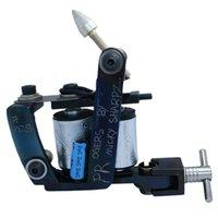 art castings - Professional Casting Iron Tattoo Machine Wraps coil stainless steel Tattoos Body Art Gun Makeup Tool