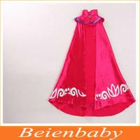 Wholesale 2015 New tutu dress Cloak party dress Girl dance dress costume Autumn dress Elsa long sleeves cape