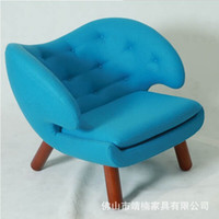 Wholesale Solid wood sofa chair single club chair Lounge Chair modern recliner chair Nordic fashion designer chair
